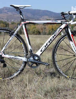 The Terra is Orbea's first full carbon cyclocross bike