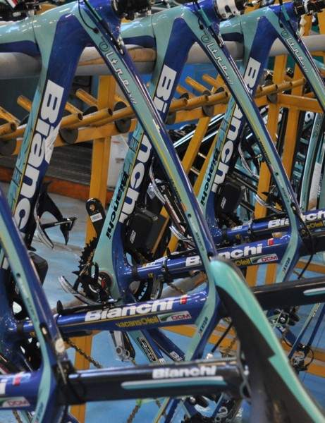 Vacansoleil-DCM will be racing with Campagnolo EPS electronic drivetrains