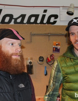 Mosaic founder Aaron Barcheck, at left, with associate Kevin Batchelor