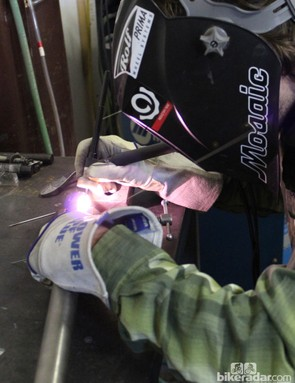 Each and every joint is carefully welded together