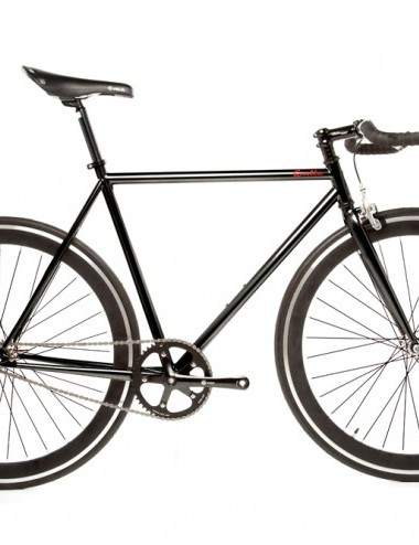 Quella One singlespeed/fixed gear bike - black