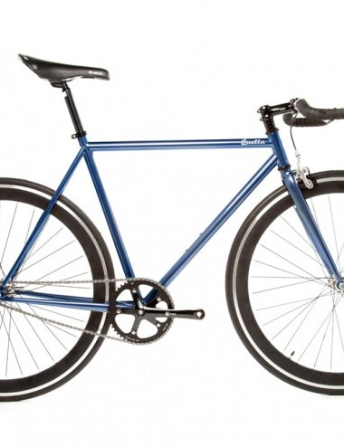 Quella One singlespeed/fixed gear bike – blue