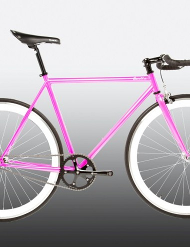 Quella One singlespeed/fixed gear bike - pink