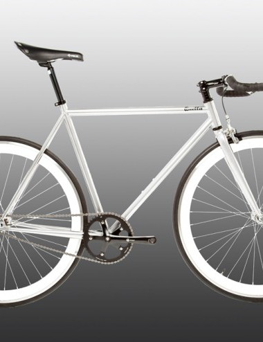 Quella One singlespeed/fixed gear bike - white