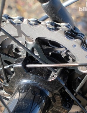Shimano now uses a molded carbon fiber spider for part of the Dura-Ace 9000 cassette