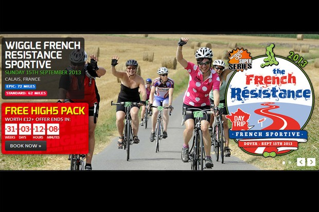 Wiggle French Resistance sportive