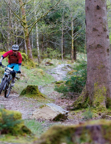 There are plenty of mountain bike trails in the National Forest in Leicestershire