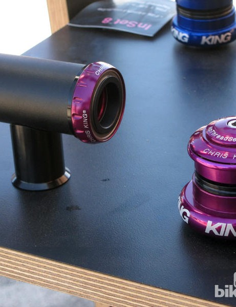 Apel is not alone in lusting after King's limited edition purple components