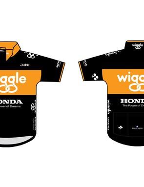The Wiggle Honda Pro Cycling team jersey