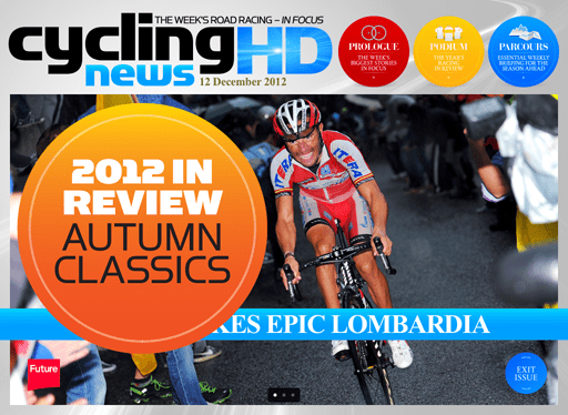 Issue 33 of Cycling News HD is now on sale