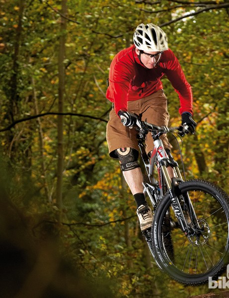 The Merida is a bike that relishes the prospect of a full bore assault on a fast, technical trail