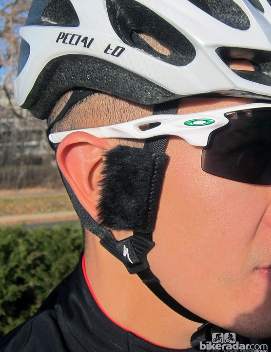 Cat-Ears says its intriguing helmet strap add-ons greatly decrease wind noise - and despite the odd appearance, they seem to work