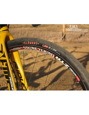 The combination of Clement tires and Stan's NoTubes rims has been a consistently reliable tubeless option in our experience