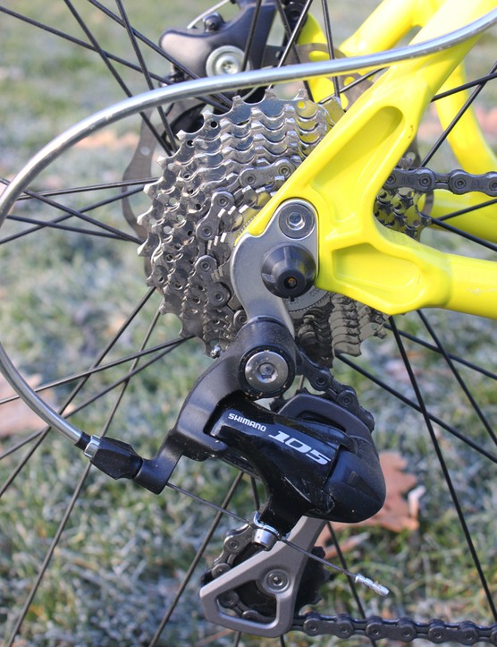 Shimano's 105 group provided crisp, reliable shifting