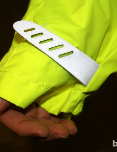 Reflective and adjustable cuffs