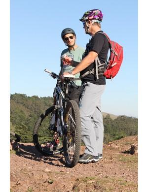 When Hans Rey talks about riding, bike riders listen