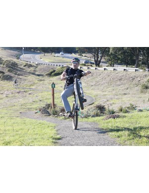 The one and only Hans Rey is keen on a bike park inside San Francisco