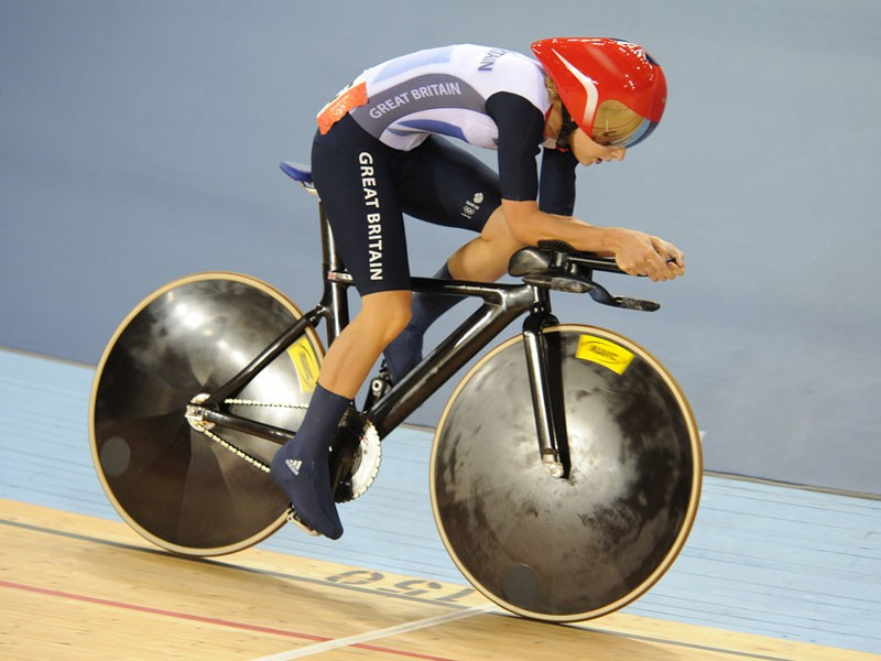 Young British star Laura Trott will be aiming to repeat her success of the London Olympics