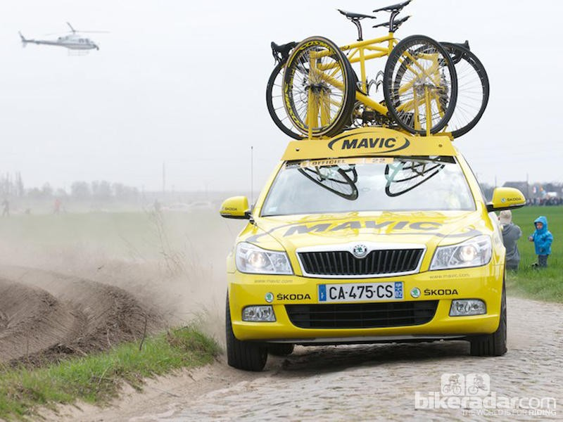 Race tech: Behind the glamour at Paris-Roubaix