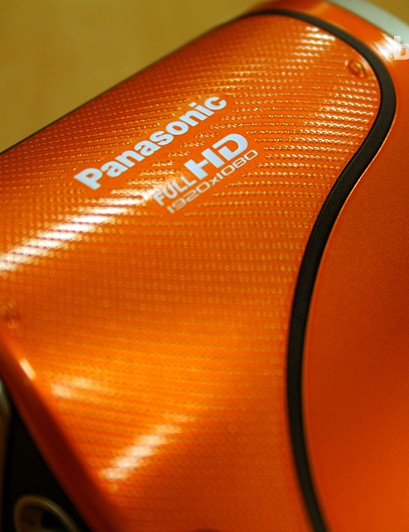 We liked the Panasonic's burnt orange colour, although it's also available in a more subtle blue