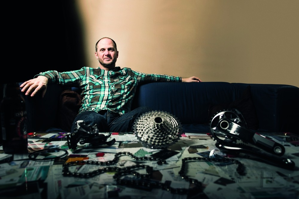 Chris Hilton is product manager at SRAM, and the man behind 11-speed XX1 gearing