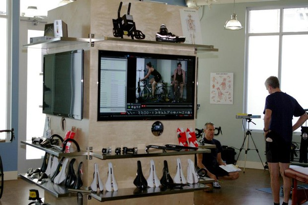 3DBikefit is packed with touch-point items and video equipment