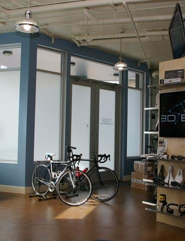 3DBikefit definitely doesn't have the atmosphere of a typical bike shop