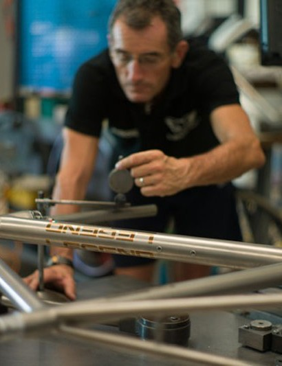 All the frames at Bespoked are handmade