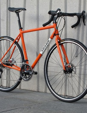 A cyclocross bike by Scottish custom builder Shand Cycles