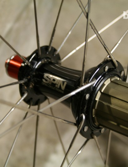 The Hyperdrive freehub has a 48-point pickup for super-fast ratchet engagement