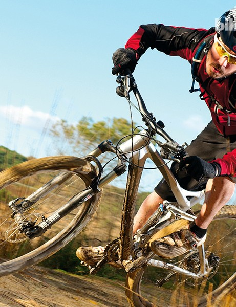 The Ghost is better for covering trail than riding off things