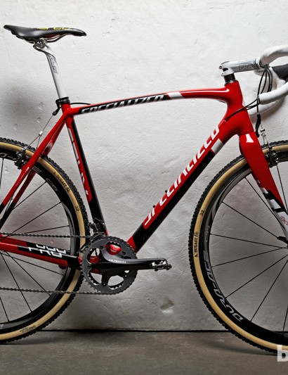 The Specialized Carbon CruX Pro, as ridden by the Hargroves Cycles Race Team