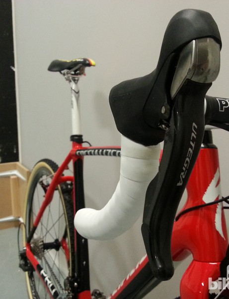 Shifters are also Ultegra