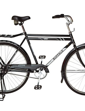 The World Bicycle Relief 'Buffalo' doesn't look like much and only costs US$134, but for people living in developing nations who would otherwise have to travel by foot, the value is much higher
