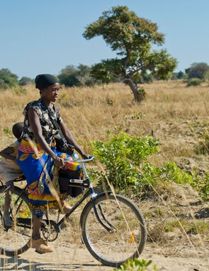 With medical facilities few and far between, a bicycle can make all the difference if someone falls ill