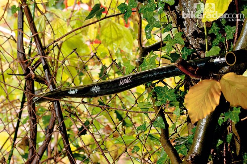 Loaded AMX flat handlebar