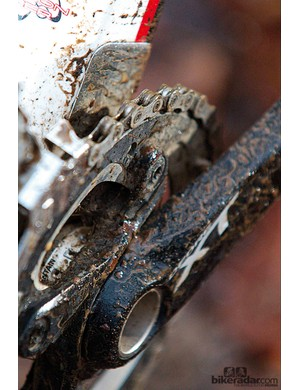 Our test bike is XT: production bikes will differ
