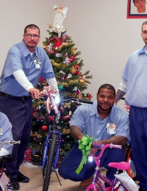 Prisoners in Ohio were happy to build bikes for kids through the Bike Lady program
