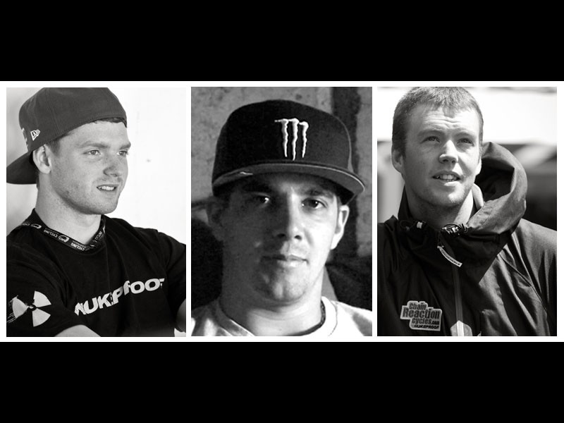 Joe Smith, Sam Hill and Matt Simmonds will all be riding for CRC / Nukeproof this season