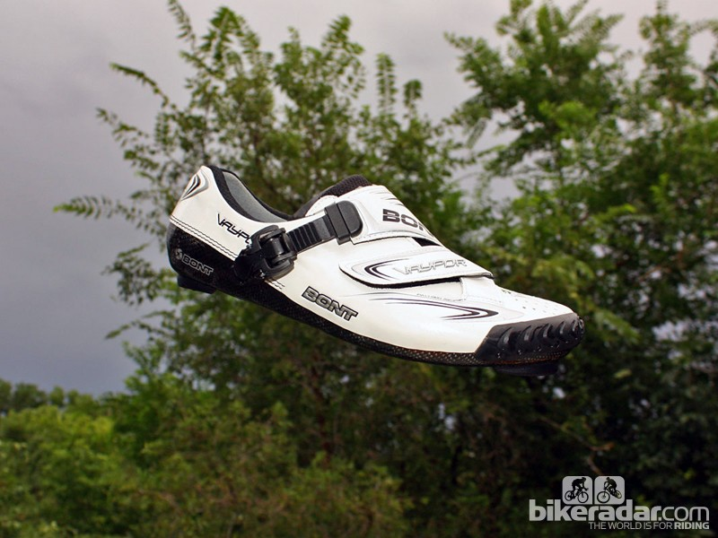 The Bont Vaypor is light, insanely stiff, and comfortable for hours on end - what more could you want? It's been my go-to road shoe all year