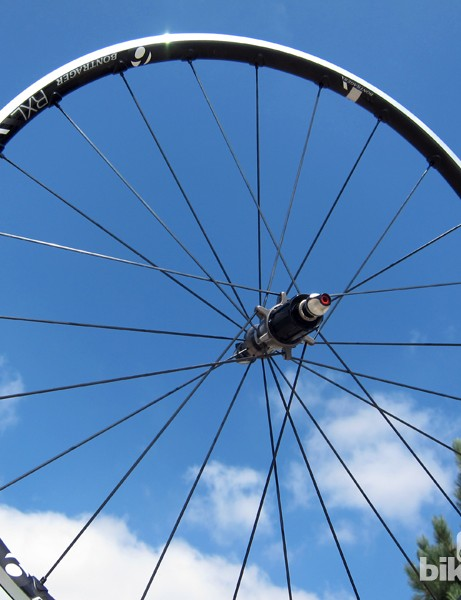 Bontrager jumped on the road tubeless bandwagon this year and the new Race X Lite TLR has been one of my favorite hoops of 2012