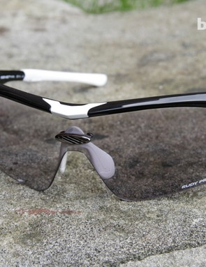 The photochromic lenses adjust slowly depending on lighting conditions