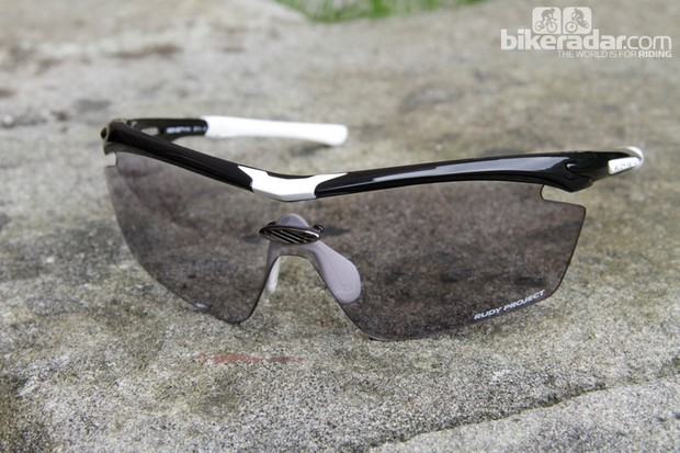 The photochromic lenses adjust slowly depending on lighting conditions