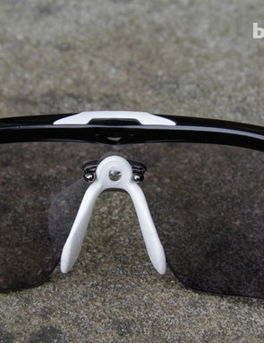 The nosepiece is extremely flexible and can be bent to suit your preference