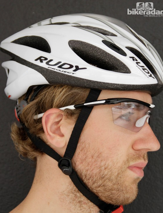 The ImpactX clear lenses are perfect for riding during early mornings and evenings