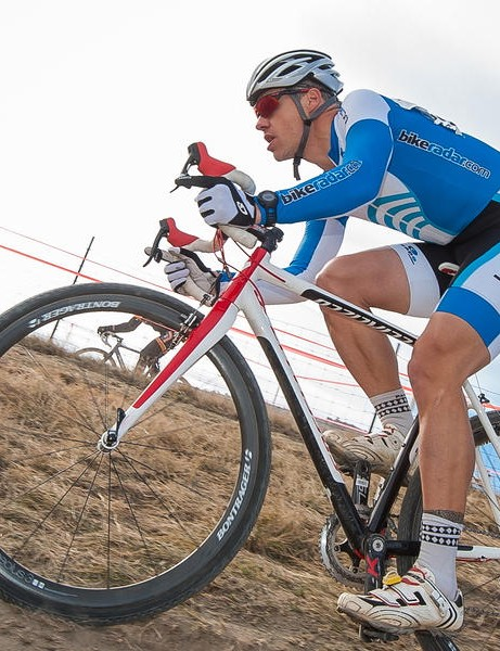 We heart the BikeRadar Capo kit - here's our US editor-in-chief Ben Delaney using it in anger