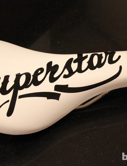 Superstar Signature saddle - simple, seam free, cro-mo railed and £22.99