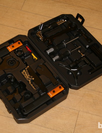The Superstar professional tool kit is very comprehensive and retails at less than £100