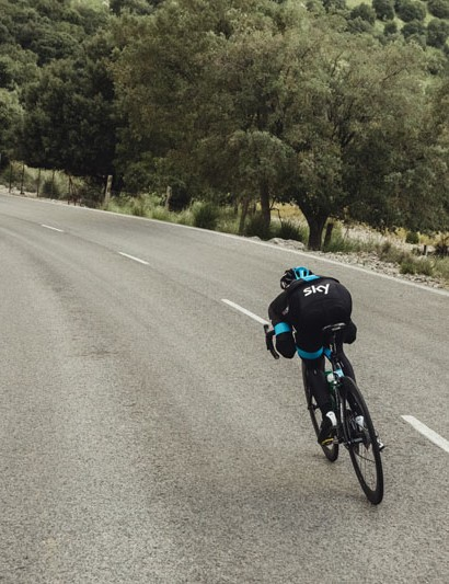 Peter Kennaugh on a descent