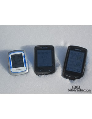 Size-wise, the new Garmin Edge 510 is bigger than the tidy Edge 500 but still smaller than the Edge 800/810